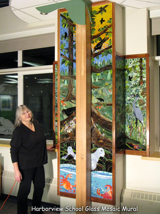 Harborview School Library Installed